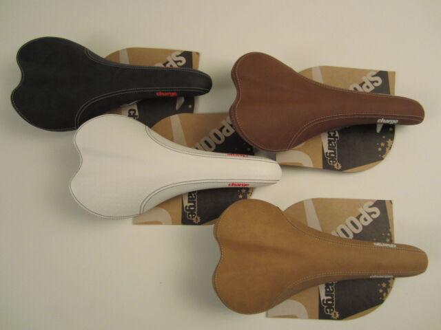 charge Sattel, Spoon saddle, schwarz, braun, weiss, tan, Singlespeed, Fixie