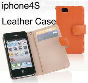 Ipone4s-4-Leather-Smart-Phone-Case-Wallet-Purse-New