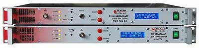 BROADCAST FM  LINK SUONOTELECOM 200- 470 mhz