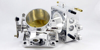 Accufab 75mm Mustang 5.0L Polished Throttle Body & EGR Spacer Kit 5.0 302 Cobra