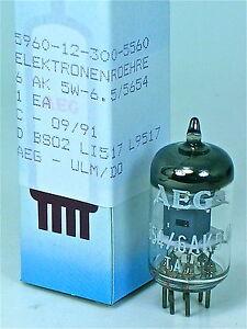 NOS DIAMOND <> TELEFUNKEN 6AK5 5654 6AK5W 6JI Tubes for Little Dot MK II 3 4 V81