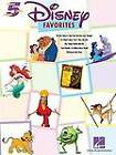 Disney Favourites Five Finger Piano by Hal Leonard Corporation (Paperback, 2004)