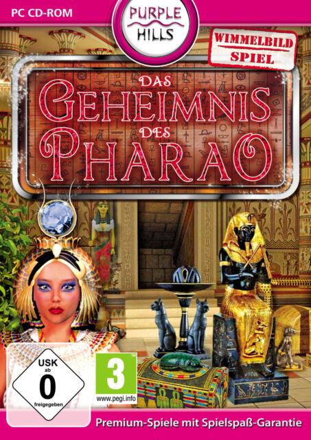 Das Geheimnis des Pharaos (PC, 2011, DVD-Box)