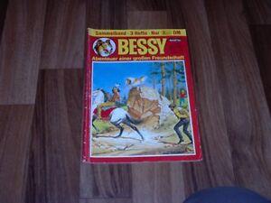 3x-BESSY-595-593-591-im-Sammelband-70-Reklame-Karl-May-Lone-Ranger
