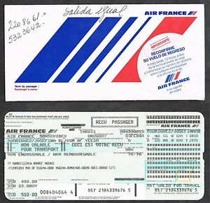 AIR-FRANCE-1994-PASSEGER-TICKET-AND-BAGGAGE-CHECK