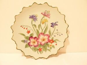Vintage-Andrea-by-Sadek-9396-plate-floral-scalloped-edge-Made-in-Japan-S2