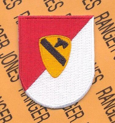 1st Cavalry Division Air Airborne w/ dui crest beret flash patch