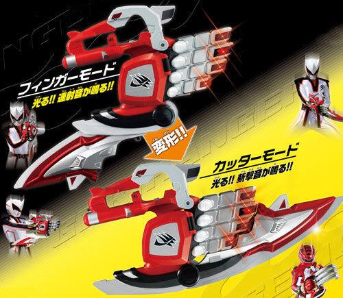 Power Rangers Jungle Fury DX Master Weapon Rhino Blade Weapon Morpher Changer