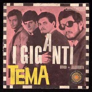 I-GIGANTI-DISCO-45-GIRI-TEMA-LA-BOMBA-ATOMICA-MANIFESTO