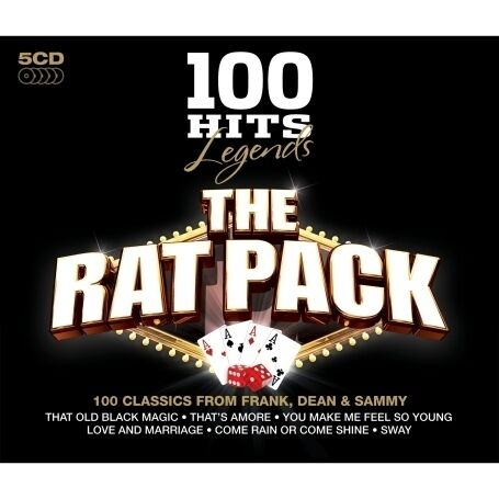 The Rat Pack - 100 Hits Legends (2009) - New - Free UK Postage