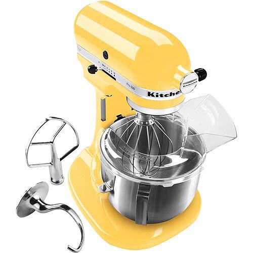 New KitchenAid Pro 600 Stand Mixer KP26m1xqbf 6 Quart Yellow Professional Large
