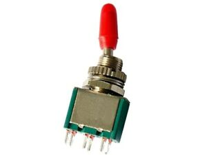 2-x-Miniatur-Kippschalter-2-pol-mit-Kappe-250V-2A-AC