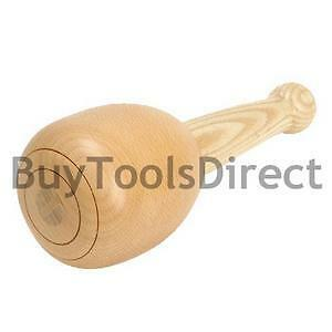 Emir-210-500g-90mm-Diameter-Beech-Wood-Carvers-Mallet-90mm-Carving-Wooden-Round