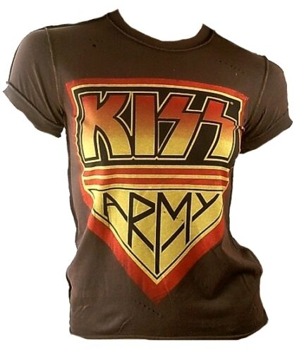 Official Merchandise Rock My World /& Amplified Vintage Band WoW T-Shirt XS//S//M//L