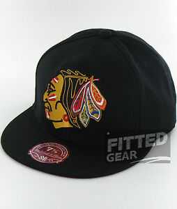 733aeb85f1dba La foto se está cargando Chicago-Blackhawks-XL-Vintage-Negro-jefe-indio-Ness -
