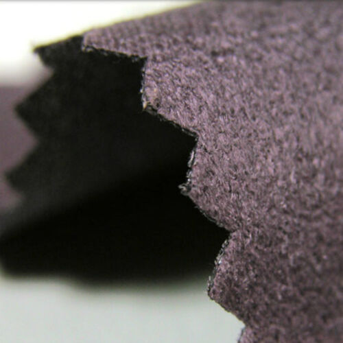 FAUX SUEDE MICRO FIBER SUEDETTE LEATHER LIKE CLOTH UPHOLSTERY DESIGNER 56 COLORS