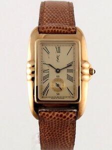 ysl yves saint laurent 603656 wrist watch