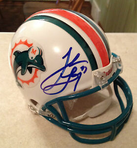 Miami-Dolphins-JAKE-LONG-Signed-Mini-Helmet