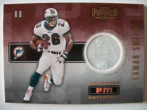 2001-PLAYOFF-PREFERRED-PM-MATERIALS-LAMAR-SMITH-228-400-Miami-Dolphins-BOX-8