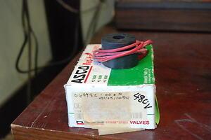 Asco 064982-006-D, 480/415/44/530v AC coil 50/60hz, New
