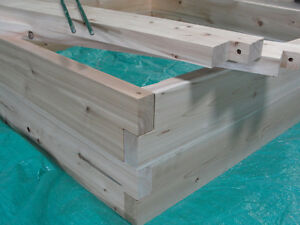 Rick039s Garden Box Northern White Cedar Raised Bed Gardening