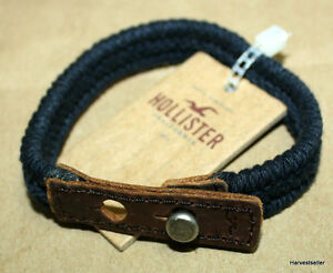 NEW-HOLLISTER-BRACELETS-MENS-ACCESSORIES-VINTAGE-STYLE-RUGGED-BRACELETS-ID-C1