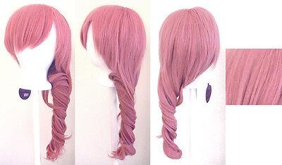 "24'' Curly ""Lightning"" Dark Pink Cosplay Wig NEW"