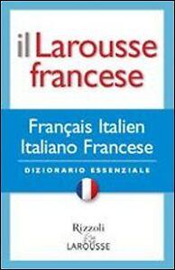 Il-Larousse-Francese-Francais-italien-italiano-francese-Dizionario-RIZZOLI