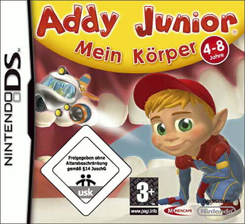 Addy Junior - Mein Körper (Nintendo DS, 2009) (H) Neuwertig (10161)