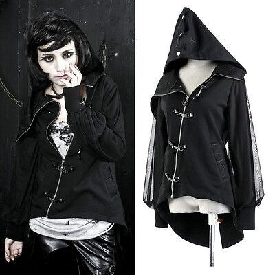 Punk Visual kera dolly Gothic lolita Unisex Jacket Coat Y207