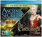 Ancient Secrets: Quest for the Golden Key/The Clockwork Man (PC, 2010)
