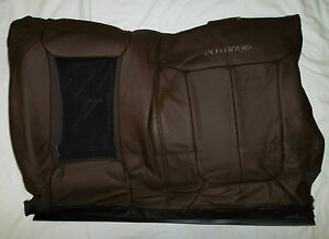 Oem Ford F Series F150 Platinum Seat Cover Rear Back 60