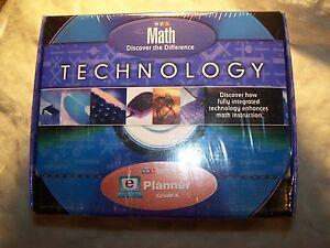 McGraw-Hill-SRA-Real-Math-TECHNOLOGY-ePlanner-CD-ROM-Grade-K-MNISB-493-Value