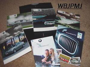 2005-BMW-3-Series-Sedan-Factory-Original-Owners-Manual-Set-Complete-in-Leather