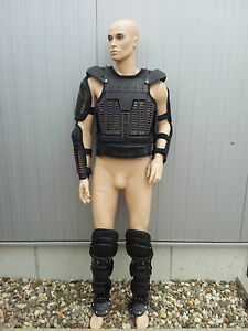GERMAN-POLICE-Anti-Riot-Gear-XXL-Body-Armor-Suit-Protect-Body-Protection-SWA