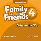 Family & Friends: pt 4: Class CD by Tamzin Thompson, Naomi Simmons, Jenny Quintana (CD-Audio, 2010)