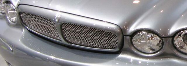 X Type Jaguar Grille Stainless Steel Woven Grill mesh insert