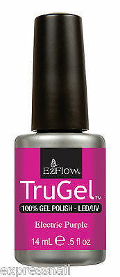 Ez Flow TruGel Soak Off Gel Nail Polish UV / LED GENUINE .5oz 14ml PART 1