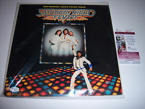 JOHN-TRAVOLTA-SATURDAY-NIGHT-FEVER-JSA-COA-SIGNED-LP-RECORD-ALBUM