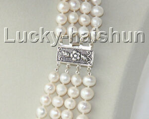 16-034-4-Strand-9mm-white-FW-pearls-necklace-925-silver-clasp-j8938