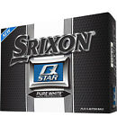 Srixon Q Star Pure White Logo Golf Balls - 3109883914798