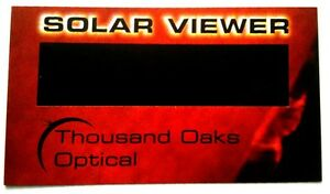 Lot-5-Eclipse-Viewers-Venus-Transit-Safe-Glasses-Black-Polymer-Solar-Filter-Sun