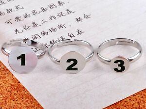 100PCS-Wholesale-Silver-Plated-Adjustable-Flat-Ring-Pad-Bases-Blanks-Nickle-free