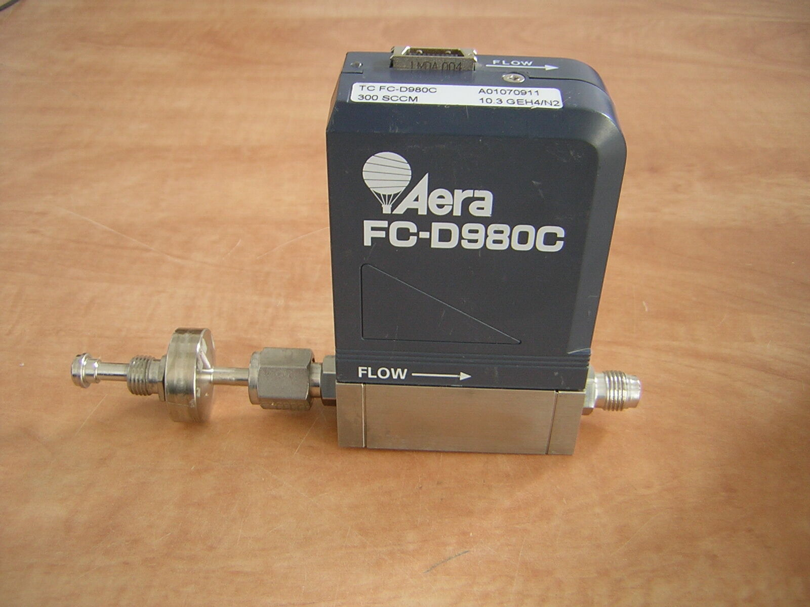 Aera TC FC-D980C Mass Flow controller 350 SCCM 5% PH3 N2