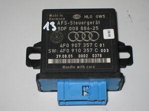 AUDI-A6-Q7-4F-A8-Control-de-alcance-luminoso-Unidad-de-control-AFS-LWR