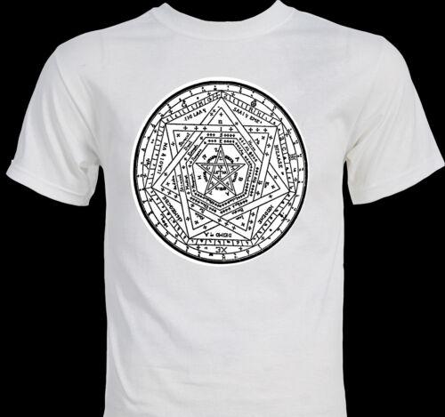 """Sigillum Dei """"Seal of God"""" John Dee Occult Mystic Magick Magician T-shirt"""