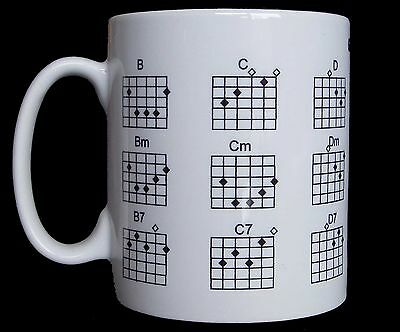 Guitar Chords Tutor Gift  Mug