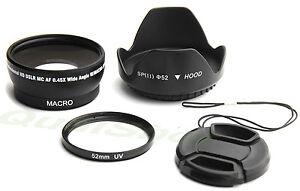 52MM-0-45X-SOFT-FISHEYE-UV-filter-HOOD-cap-for-Canon-XLH1-XL2-XL1S-XL1-XHG1