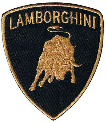 Lamborghini Shield embroidered cloth patch from England (tg)