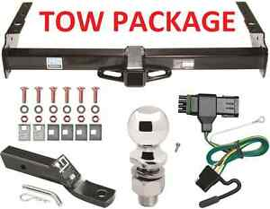 COMPLETE-TRAILER-RECEIVER-TOW-HITCH-PACKAGE-W-WIRING-GM-CHEVY-SUV-FAST-SHIPP